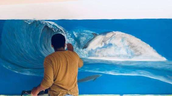 Arte en murales. embellecemos tu casa u oficina o negocio.