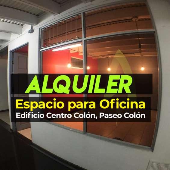 Oportunidad: oficina edificio centro colón
