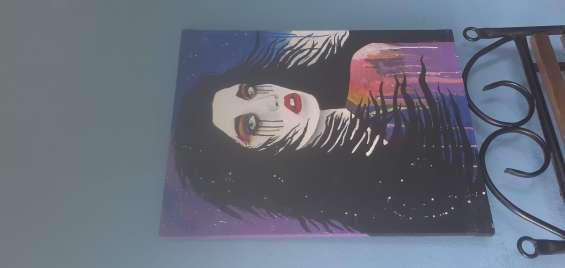 Pintura acrilica sobre lienzo
