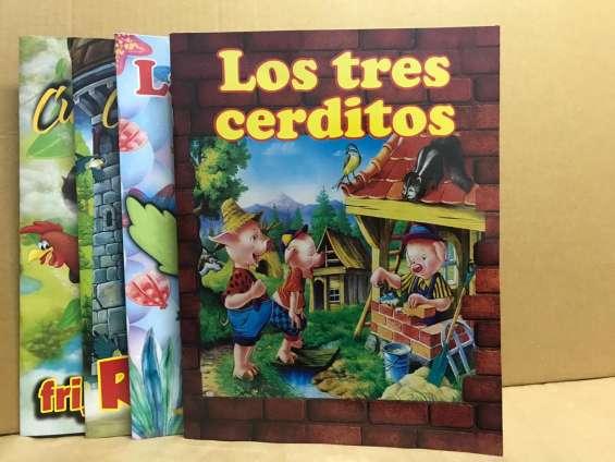 Libros de cuentos para colorear