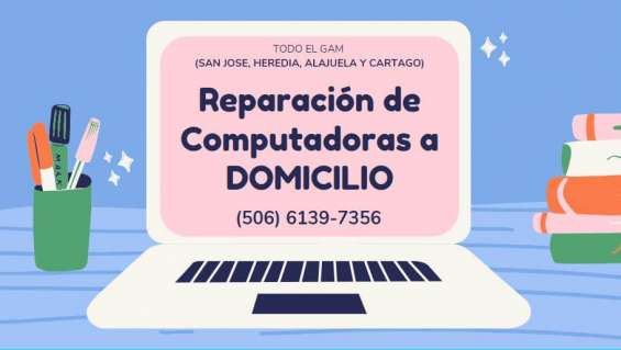 Reparacion de computadoras a domicilio costa rica