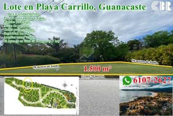 Lote en puerto carrillo, guanacaste. rono whatsapp: 6107-2627