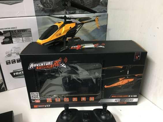 Helicoptero de control remoto bateria recargable de litio 3.7v