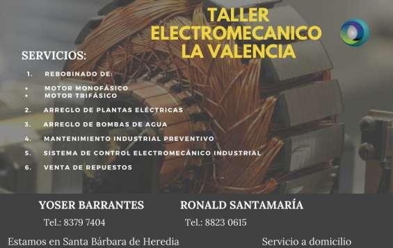 Vendo servicios electromecánica