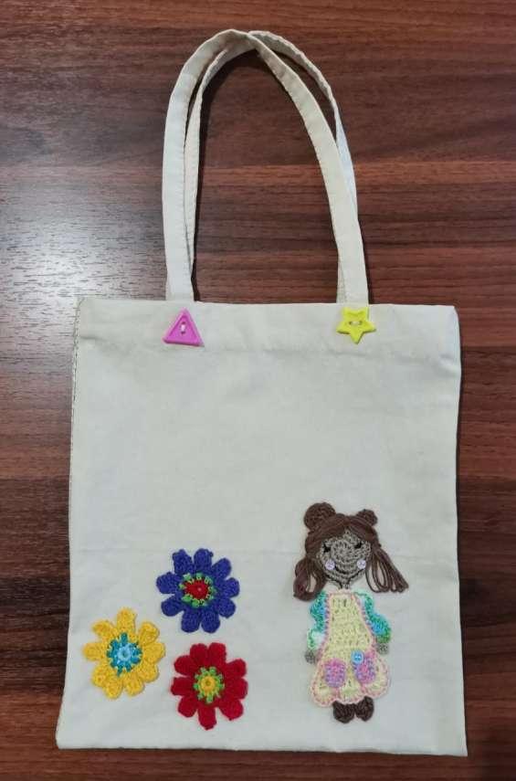Hermosas bolsas para cuidar el ambiente